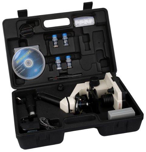 NECTARIS Biotar 900x Junior Mikroskop Lern Set für Schüler und Kinder 28-teilig