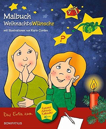 Das Malbuch zum Essener Adventskalender 2017: Weihnachtswünsche