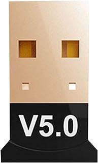 VILLCASE Adaptador USB Bluetooth 5. 0 Dongle Wireless Dongle Desktop Receptor Transmissor Bluetooth para Mouse Teclado Fon...