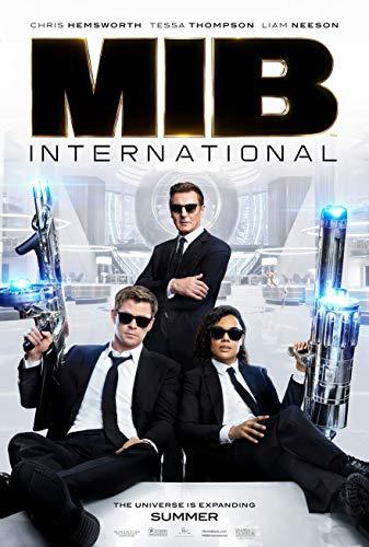 posters for men MEN IN BLACK: INTERNATIONAL MOVIE POSTER 2 Sided ORIGINAL 27x40 CHRIS HEMSWORTH