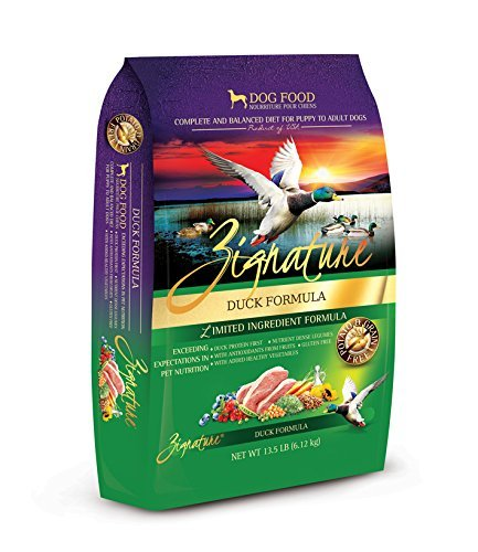 Zignature Duck Formula Dry Dog Food