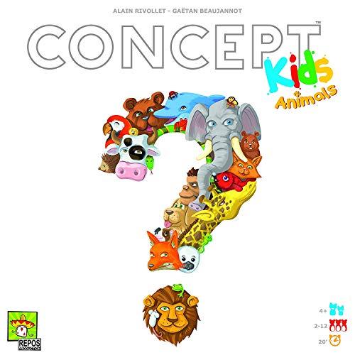 Repos Productions - Concept Kids: Animals - Brettspiel