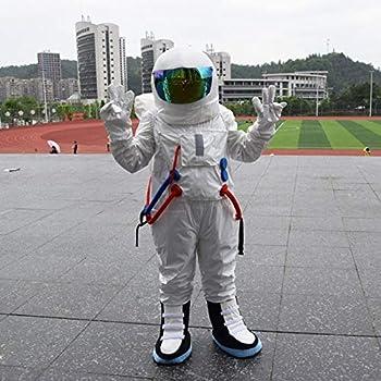 WSJDE 3 Colores Astronauta Cosplay con Casco para Adultos Traje ...