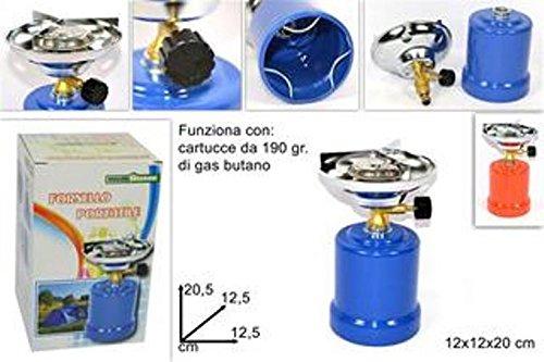 HORNILLO DE GAS PARA CAMPING CON CARTUCHO DE TINTA