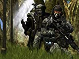 HSA Ghost Call Of Duty Call Duty Modern Warfare 2 Game Gun Ps3 Xbox 360 Soldier Pc Game Pre Poster Matte Finish Paper Print 12 x18 Inch (Multicolor) N-7084