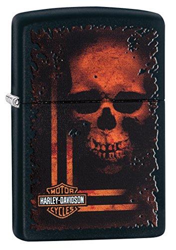 Zippo Harley-Davidson, Accendino Unisex Adulto, Nero, Regular