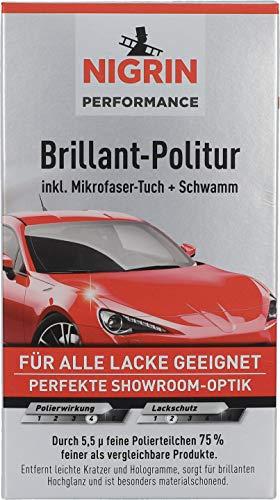Nigrin 72970 Turbo Rendimiento Brillante Polaco, 300 ml