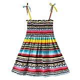 Giulot Toddler Baby Girl Dress Birthday Skirt Sundress Summer Outfits Sleeveless Daisy Boho Straps Dress Clothes