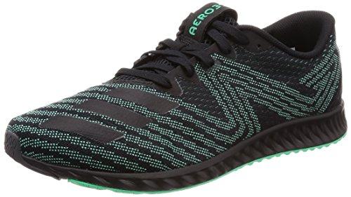 adidas Aerobounce Pr M, Zapatillas de Running para Hombre, Negro (Core Black/hi-Res Green S18/solar Slime Core Black/hi-Res Green S18/solar Slime), 41 1/3 EU