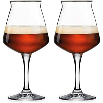 Rastal Teku Stemmed Beer Glasses - 2 Pack - 11.2 oz