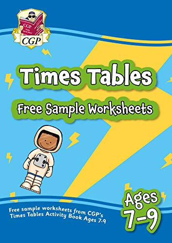 Free sample worksheets from CGP's Times Table Activity Book for Ages 7-9