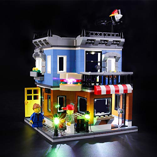 BRIKSMAX Led Lighting Kit for Creator Corner Deli - Compatible with Lego 31050 Building Blocks Model- Not Include The Lego Set