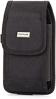 Premium Rugged Case Holster Rotating Belt Clip Pouch Cover for T-Mobile Alcatel Idol 4S - T-Mobile Alcatel One Touch Fierce XL - T-Mobile Alcatel REVVL - T-Mobile Blackberry Priv
