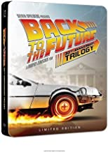 BACK TO THE FUTURE 30th Anniversary Complete Trilogy Steelbook (4-disc Blu-ray + Digital HD) [Target Exclusive Steelbook w...