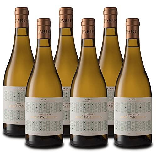 Vino Blanco Dulce Apasionado de 50 cl - D.O. Rueda - Bodegas Jose Pariente (Pack de 6 botellas)