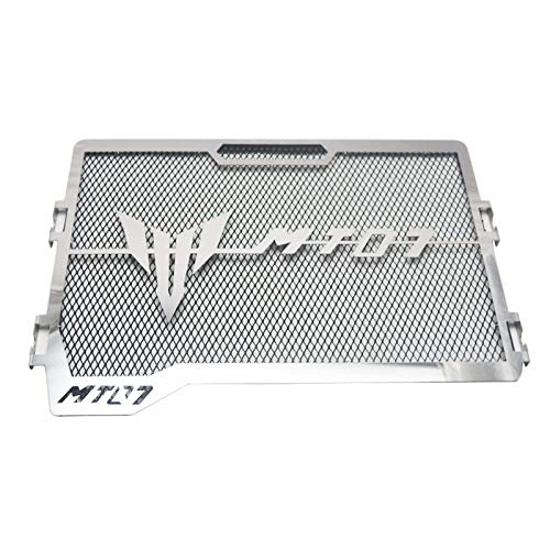 OUYAWEI Rejilla de Acero Inoxidable para radiador de Motocicleta Yamaha MT-07 MT07 14-18