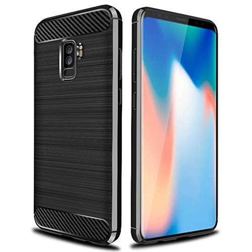 Galaxy S10 Plus Case,Samsung Galaxy S10 Plus Case,Galaxy S10+ Case,Asmart See-Through Galaxy S10 Plus Phone Case Clear Crystal Cover Slim Transparent Protective Case for Samsung Galaxy S10 Plus,Black