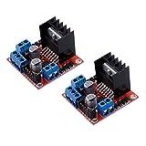 Muzoct 2 Stücke Packungen L298 N Motor Drive Controller Board Modul DC Dual H-Bridge Stepper Motor...