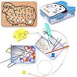 Exquiss 27 pcs Knitting Kits Beginner Knitting...