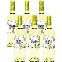 Cantarranas Vino Blanco - 6 Botellas de 750 ml - Total: 4500 ml