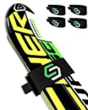 StoreYourBoard 4 Pack of Ski Fastener Straps