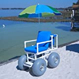 Beach Wheelchair (Large Tires) (Blue)