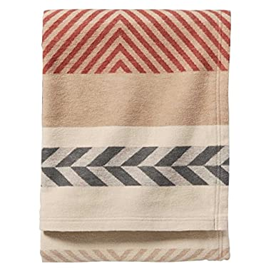 Pendleton Mohave Clay Organic Cotton Blanket -Clay King Size