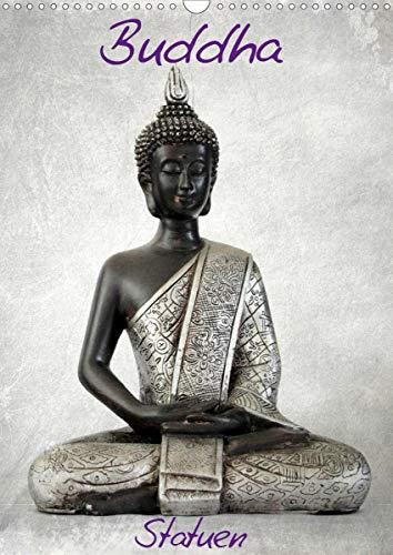 Buddha Statuen/CH-Version (Wandkalender 2020 DIN A3 hoch)