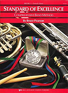 W21HF - Standard of Excellence Book 1 - French Horn (Standard of Excellence Comprehensive Band Method)