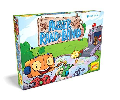 Zoch - Ausser Rand & Band - Kinder- und Familienspiel, Roboterproduktions-Spiel für Kinder und Erwachsene, 2-4 Spieler, für Kinder ab 7 Jahren