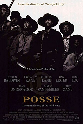 POSSE MOVIE POSTER 1 Sided ORIGINAL 27x40 MARIO VAN PEEBLES PAM GRIER