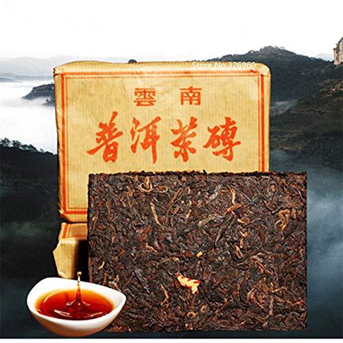 100g (0.22LB) Puer Tea Brick Hecho en CN Maduro Pu er Tea Older Puer Tea antepasado Antique Black tea Te chino Te maduro Puerh te Pu-erh te Comida verde Pu er te te cocido Te rojo