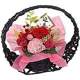 花由 お年賀・お正月の花飾り 和風 プリザーブドフラワー 花宵月 迎春ver