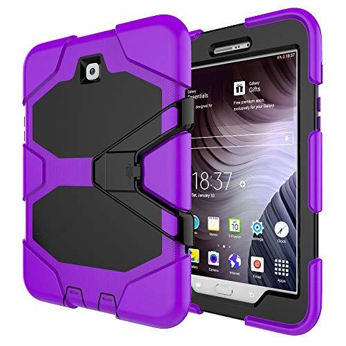 RZL Pad y Tab Fundas para Samsung Galaxy Tab S2 8.0, Funda de Tableta a Prueba de Golpes Cubierta de Stand de Silicona para Samsung Galaxy Tab S2 8.0 T710 T715 T713 T719 (Color : PU)