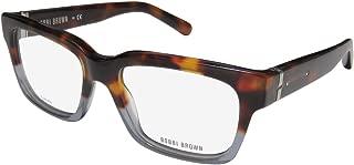 Bobbi Brown The Avery Womens/Ladies Rectangular Full-rim Spring Hinges Designer Beautiful Hip & Chic Eyeglasses/Glasses