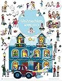 Wimmelbuch Weihnachten: ab 2 Jahre: Kinderbücher ab 2 Jahre (Bilderbuch ab 2-6)