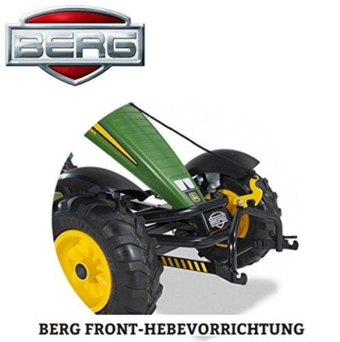 Berg GoKart Fronthebeeinrichtung für Palettengabel Schieber Schaufel 156040