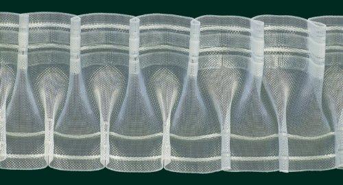 Ruther & Einenkel Smokband, 80 mm, volltransparent, 200% / Aufmachung 10 m