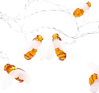 Honey Bees string Lights 1.5M 10 LED Lights Fairy Light Battery Powered Christmas Party Decorations Home Decor