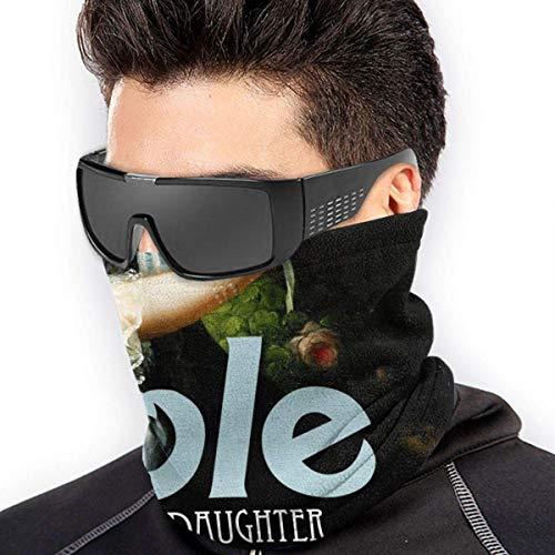 ngxiandaz Lochband Nobody 'S Daughter Soft Fleece Neck Warmer Gamasche Gesichtsmaskenabdeckung für kaltes Wetter