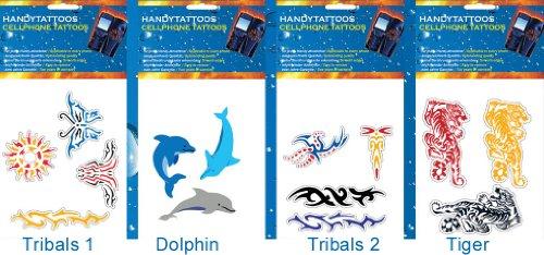 Standard Handytattoos, Dragons und Scorpion und Geckkos2