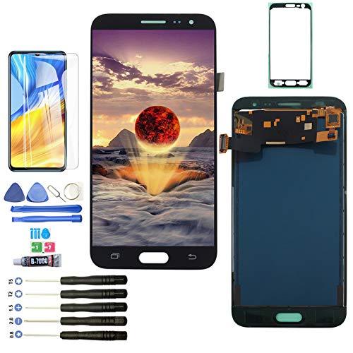 YWL-OU Reemplazo de Pantalla para Samsung Galaxy J3 2016 J320A J320FN LCD Display LCD Assembly de Pantalla Táctil + Herramientas Práctica (Negro)