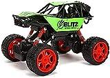 yanzz 1:16 4x4 2.4Ghz RC Buggy Cars Juguetes Control Remoto inalámbrico eléctrico para niños Modelo de vehículo Todoterreno Coche controlado por Radio Inteligente Big Foot Camión de Escalada Coche