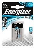 Energizer E301323300 Max Plus E-Block (9 V) 1 pezzo, cromato