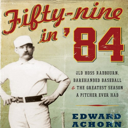 Fifty-Nine in '84 audiobook cover art