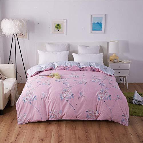 Miwaimao - Colcha de una sola pieza para estudiantes universitarios con cama individual, 150 x 200 cm