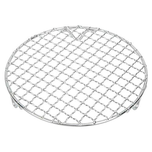 Agatige 7 Inch Cooling Racks for Cooking and Baking, Stainless Steel Round Roasting Rack for BBQ