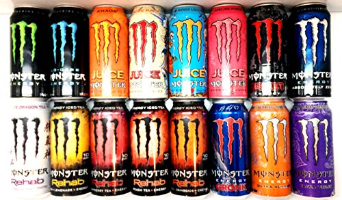 Monster Energy Drink Variety Pack 2 - 16 count