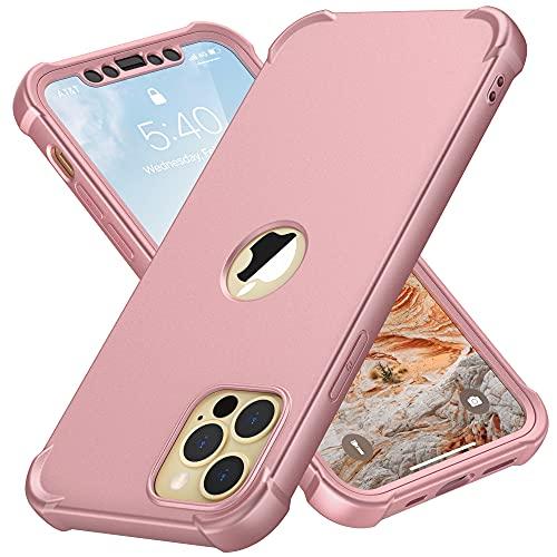 ORETECH Bumper Funda Compatible con iPhone 12 Pro MAX, con [2X Protector...