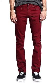 Best burgundy jeans mens slim Reviews